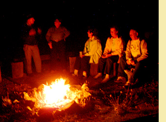 Join us for an old-time campfire